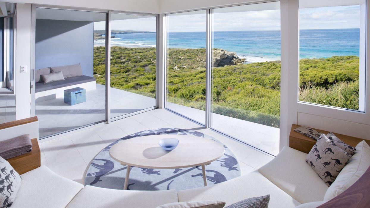 tables interior windows  wallpaper