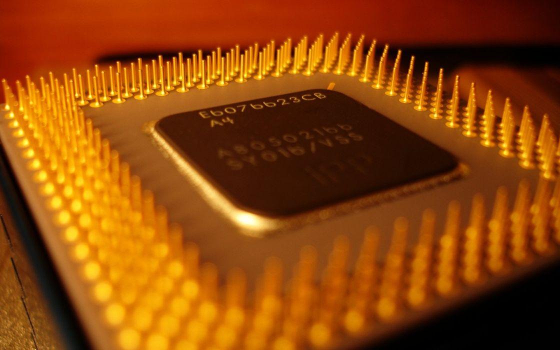 hardware technology chip CPU processor wallpaper