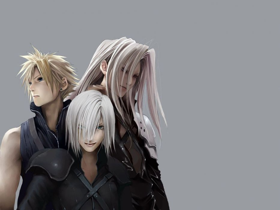 Final Fantasy Vii Sephiroth Cloud Strife Wallpaper