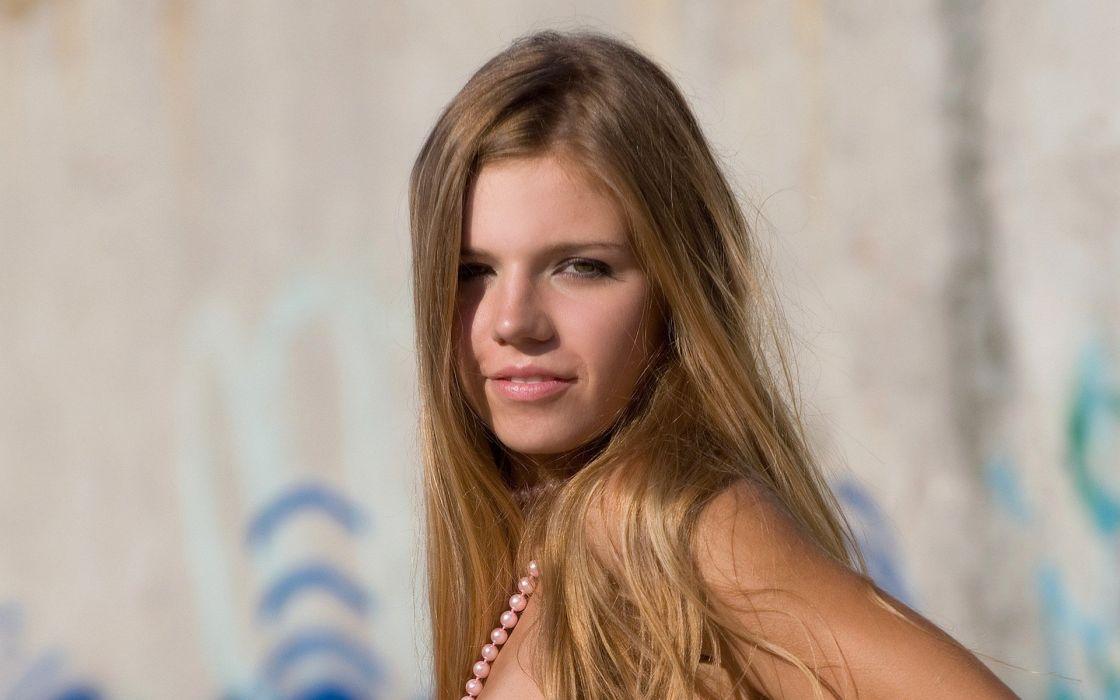 blondes women models MPL Studios magazine nude Iveta C wallpaper