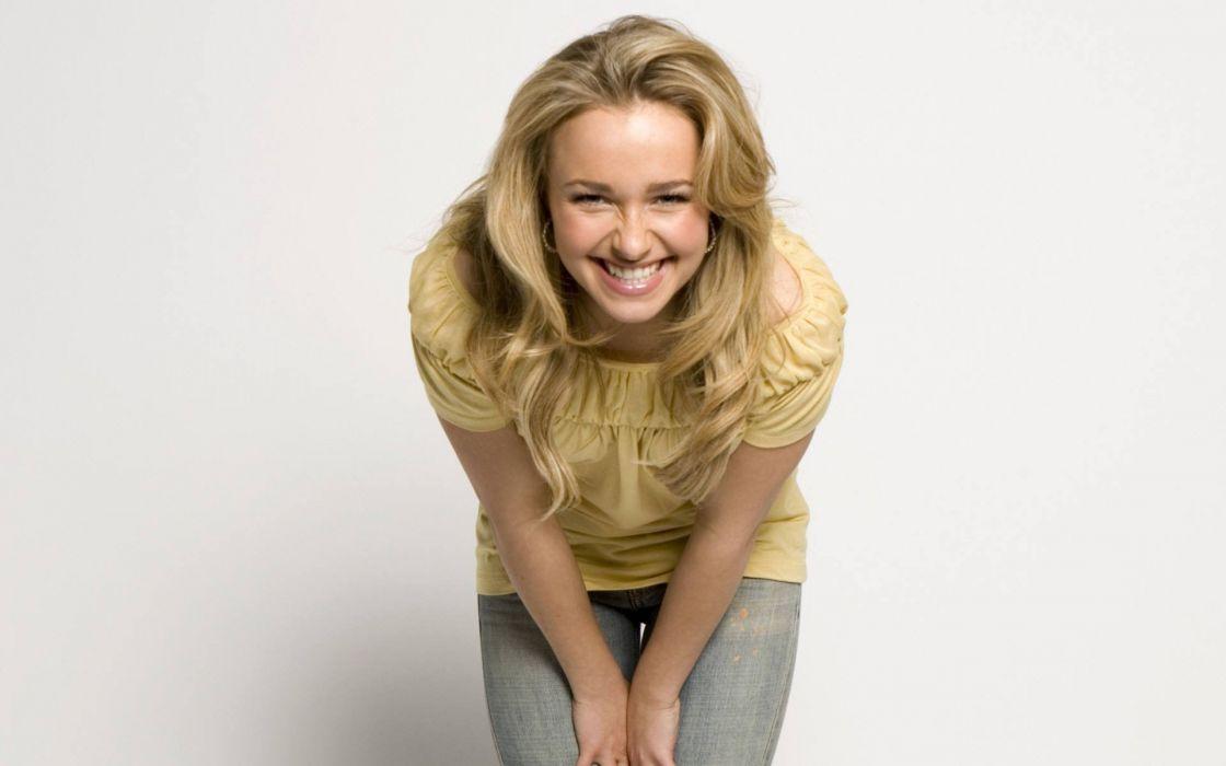 blondes women actress Hayden Panettiere celebrity wallpaper