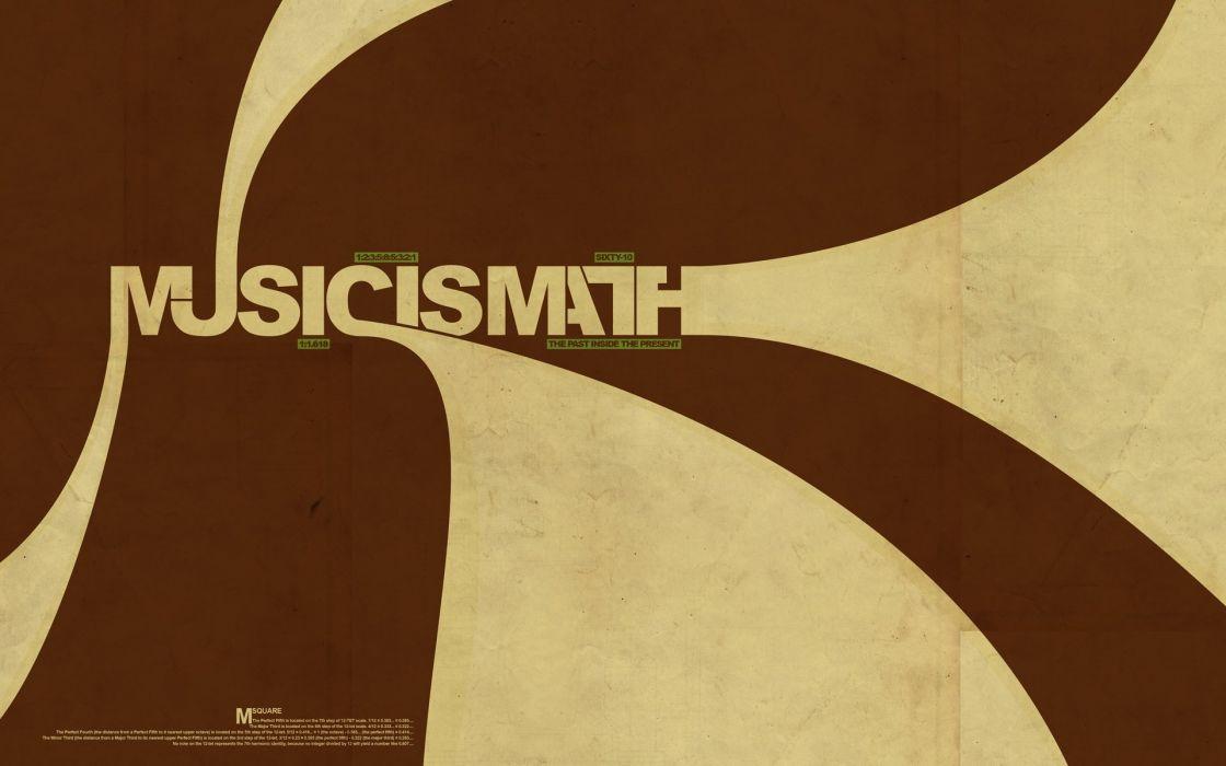 music retro typography brown background wallpaper