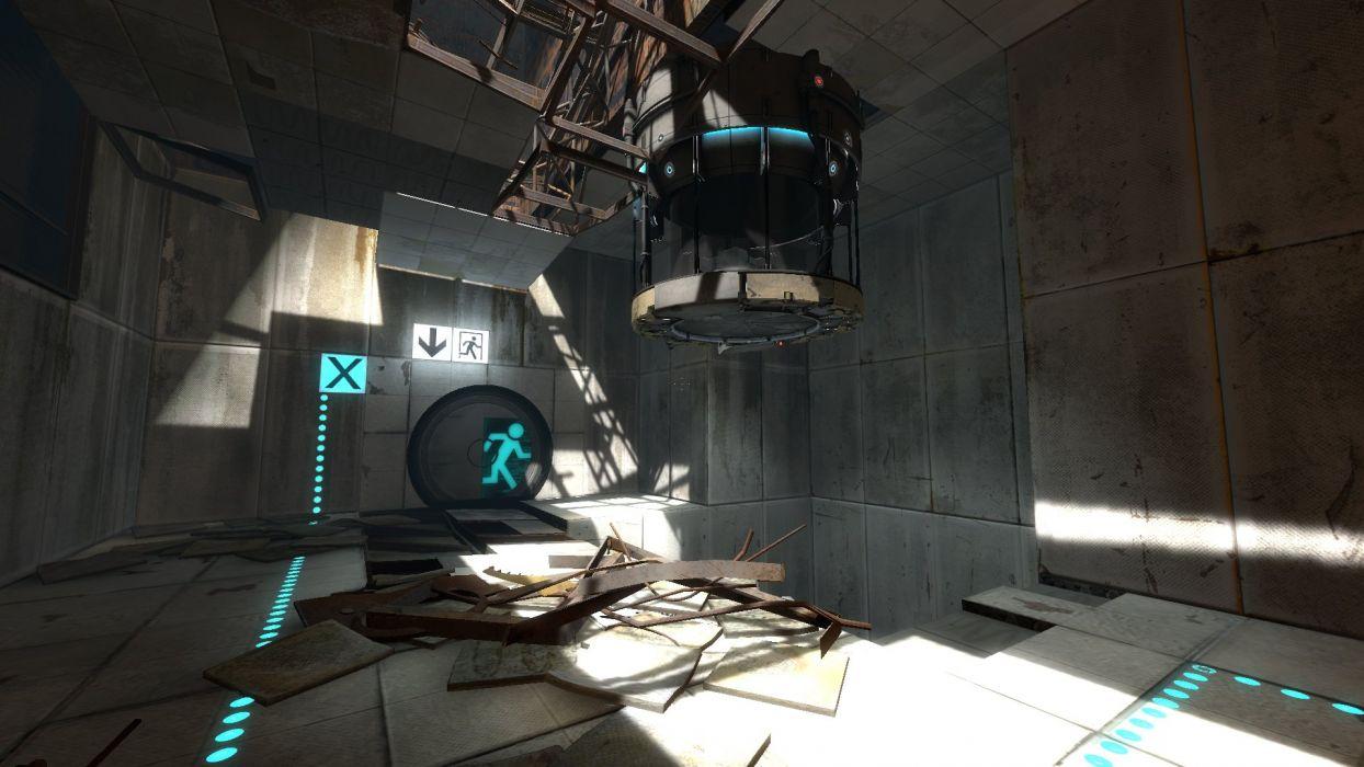 video games Portal Portal 2 wallpaper