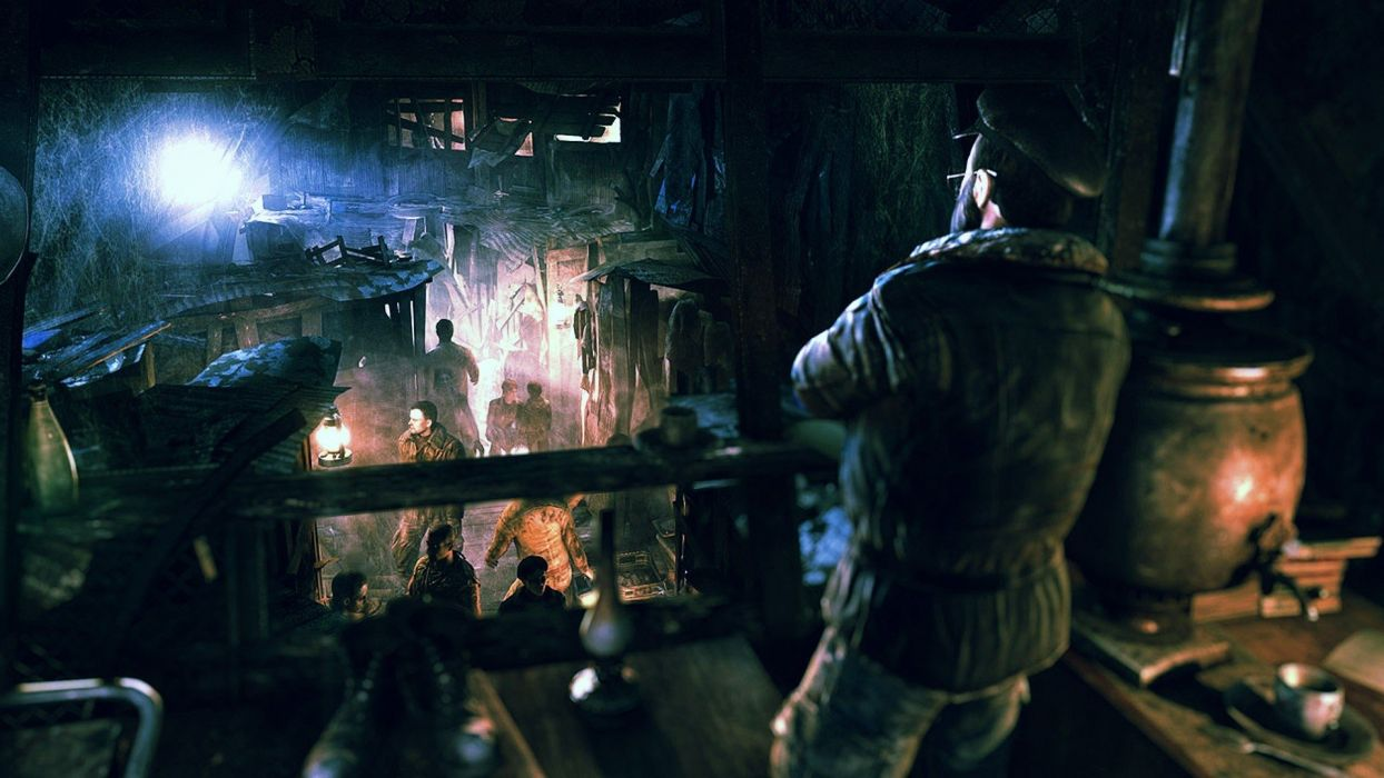 video games post-apocalyptic artwork Metro: Last Light wallpaper