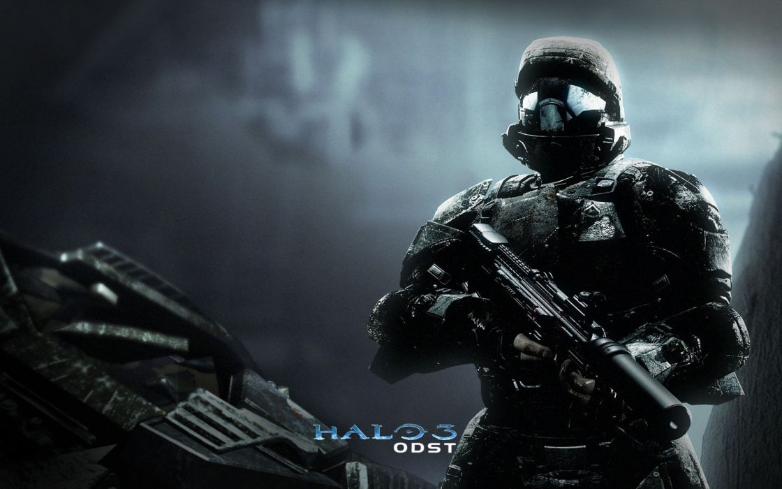 video games Halo Halo ODST wallpaper
