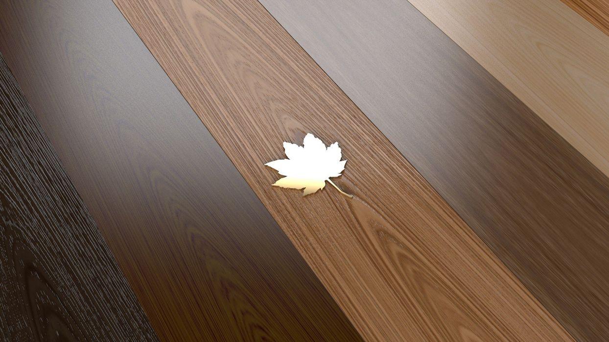 wood leaves parquet maple Miscellanea wallpaper