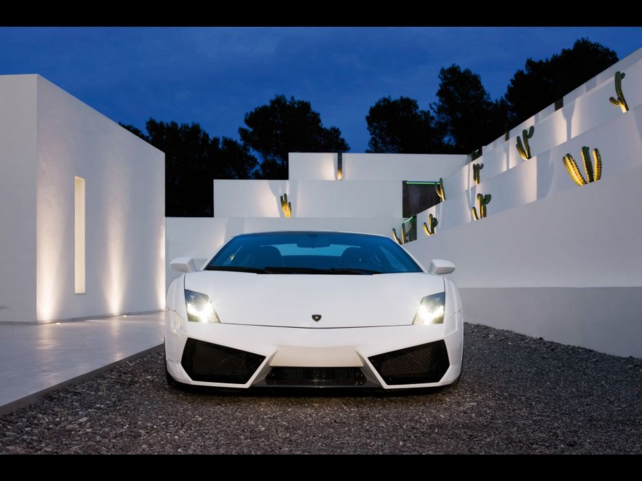 front Lamborghini Gallardo wallpaper