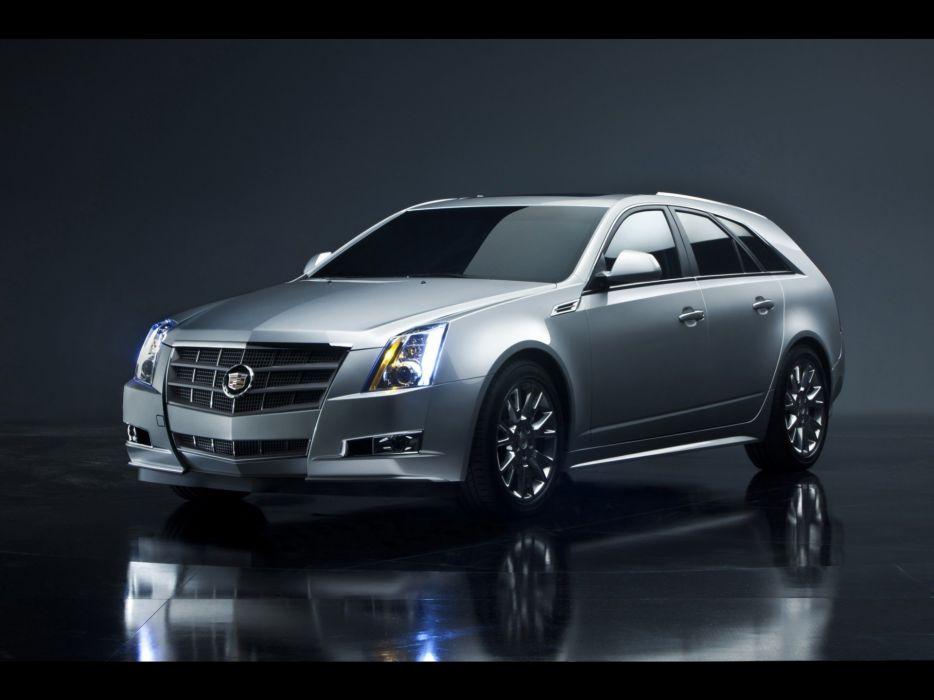 cars studio vehicles Cadillac CTS wallpaper