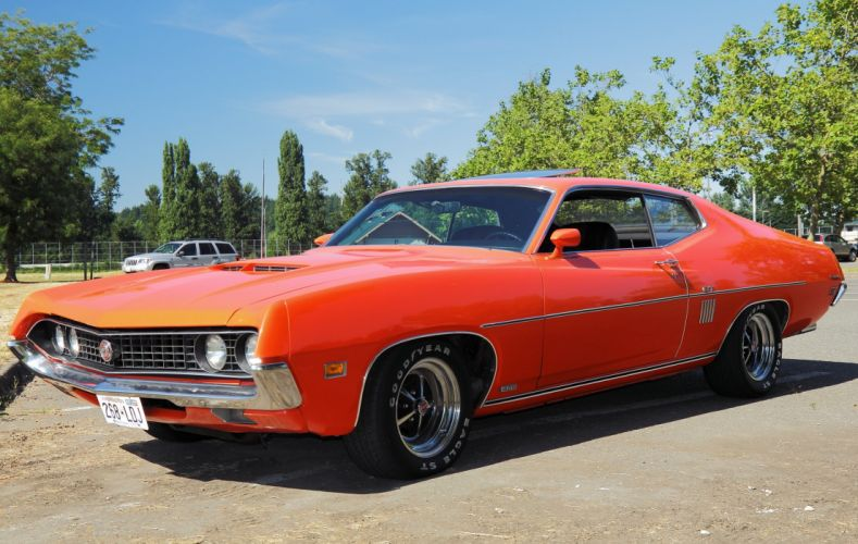Vehicles 1970 Ford Torino cars classic wallpaper
