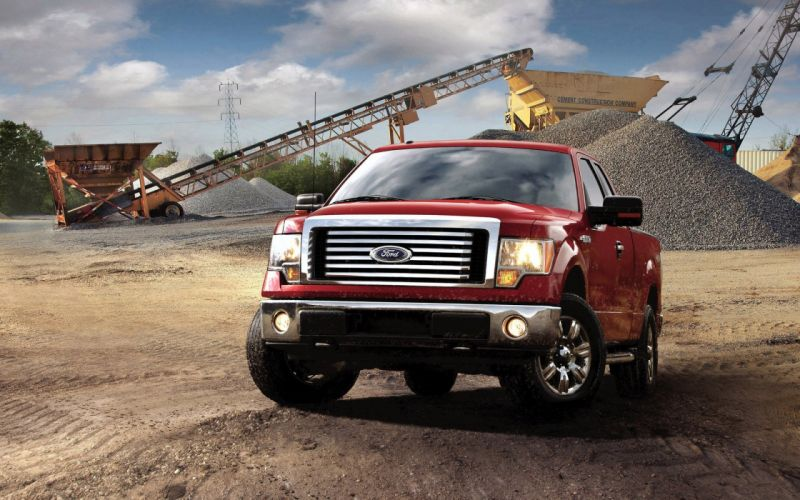Vehicles Ford F-150 trucks nature wallpaper