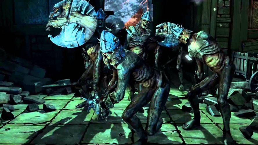 BOUND BY FLAME fantasy action role game warrior battle skull warrior dark wallpaper