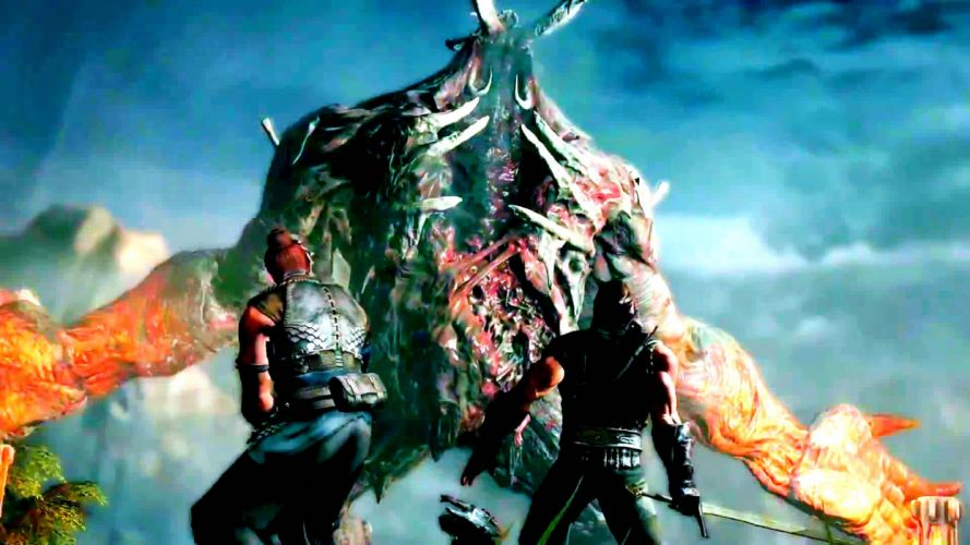 BOUND BY FLAME fantasy action role game warrior battle monster wallpaper