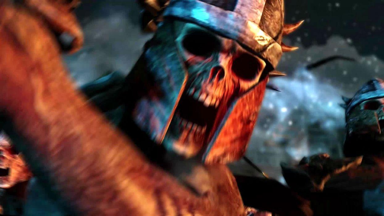 BOUND BY FLAME fantasy action role game warrior battle skull dark wallpaper