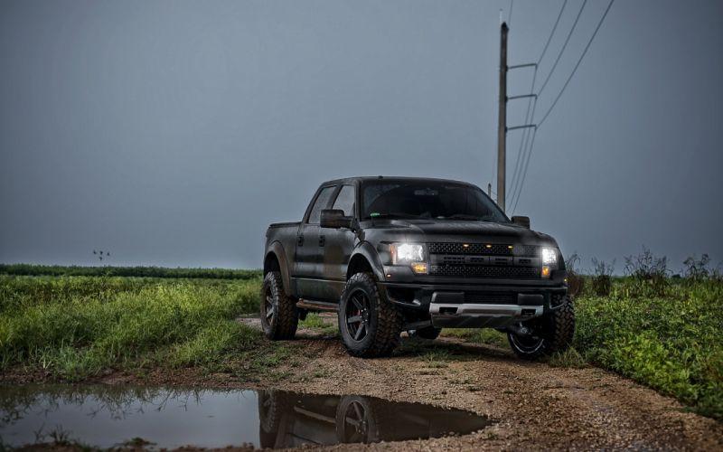 Vehicles Ford Raptor trucks wallpaper