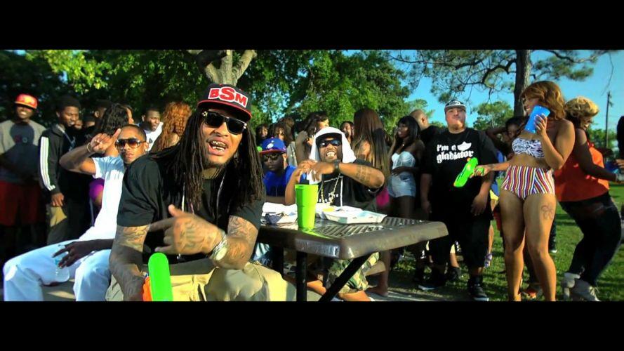 WAKA FLOCKA FLAME gangsta rap rapper hip hop wallpaper