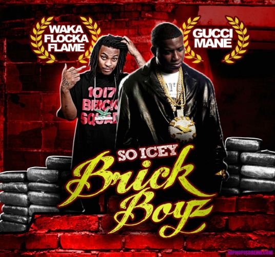 WAKA FLOCKA FLAME gangsta rap rapper hip hop poster gucci mane wallpaper