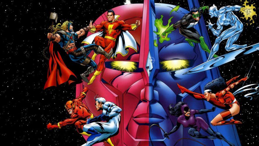 DC vs_ Marvel wallpaper
