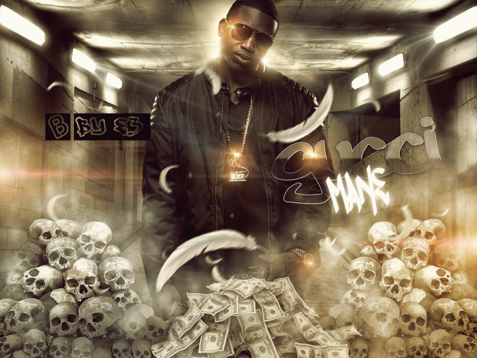 GUCCI MANE southern gangsta rap rapper hip hop poster wallpaper