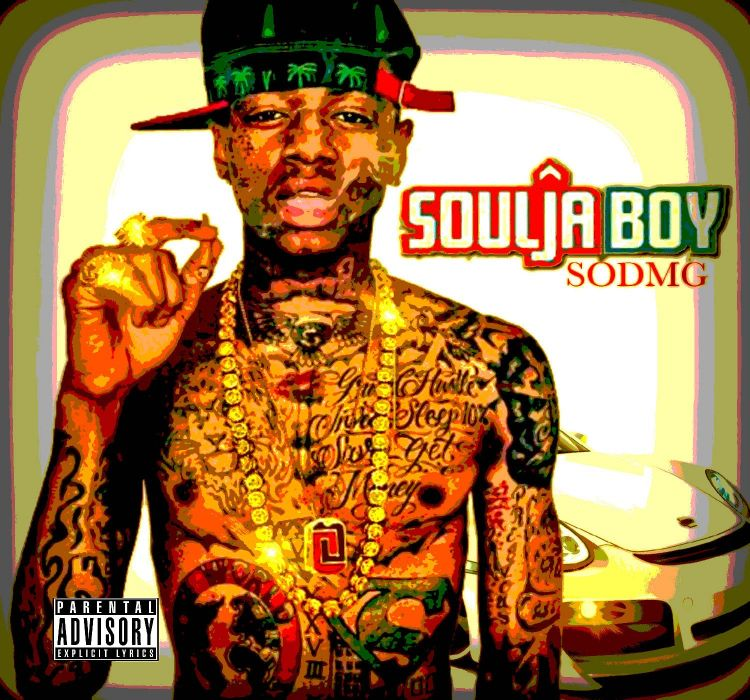 SOULJA BOY rap rapper hip hop gangsta poster tattoo ween marijuana 420 wallpaper
