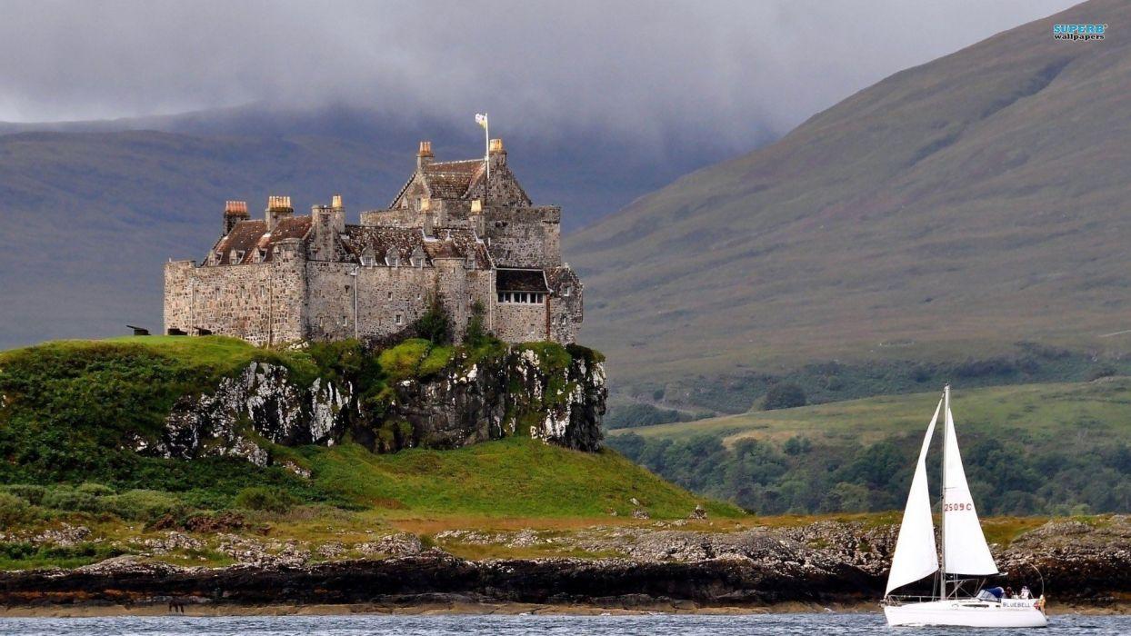 cityscapes castle wallpaper