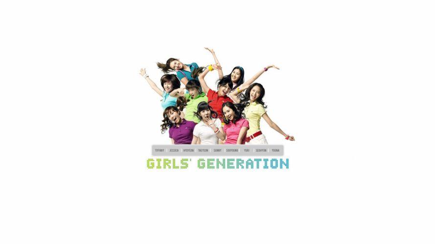 music Girls Generation SNSD celebrity Asians Korean Korea singers K-Pop band South Korea wallpaper