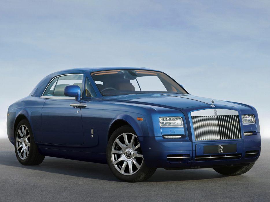 cars Rolls Royce blue cars wallpaper