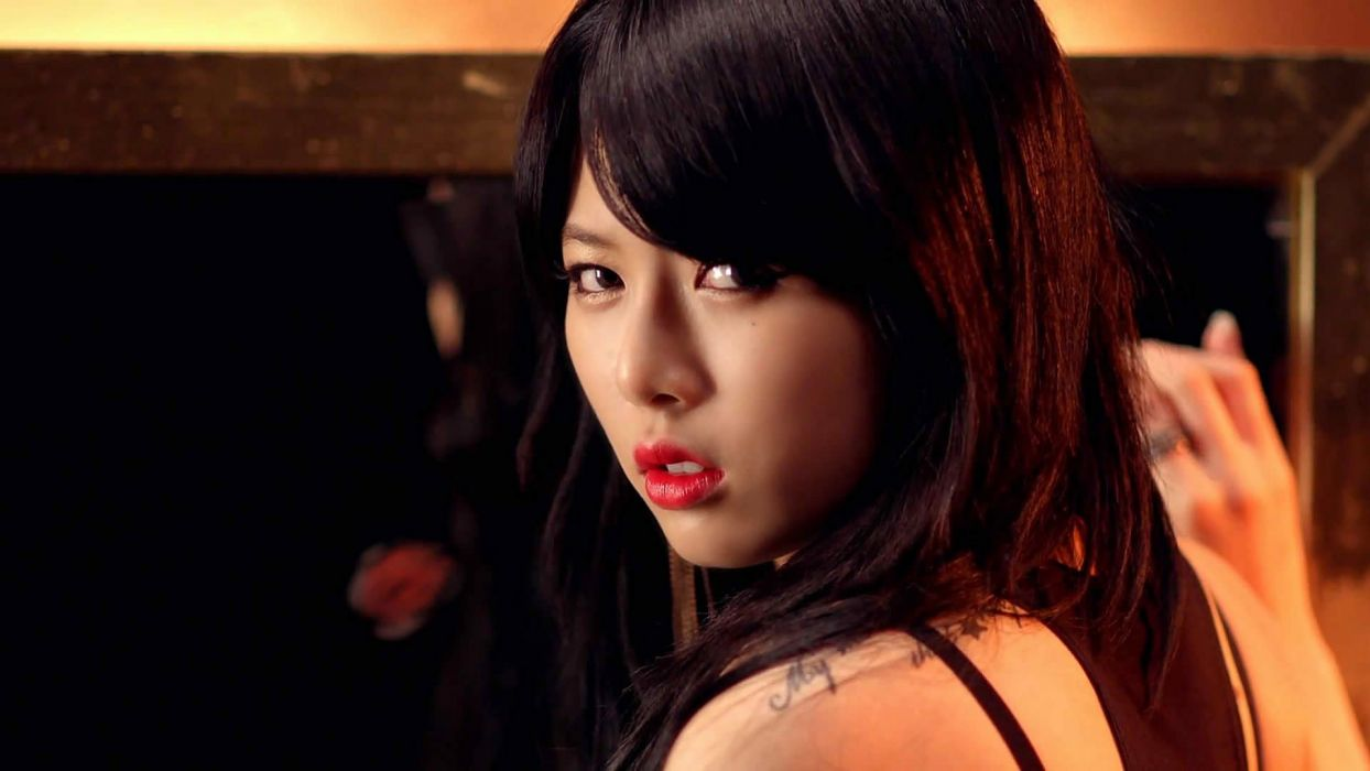 women Asians Korean K-Pop 4Minute Kim Hyuna Hyuna wallpaper