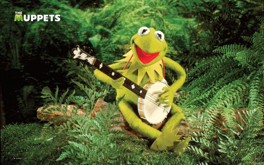 green frogs Kermit the Frog banjo Jim Henson wallpaper