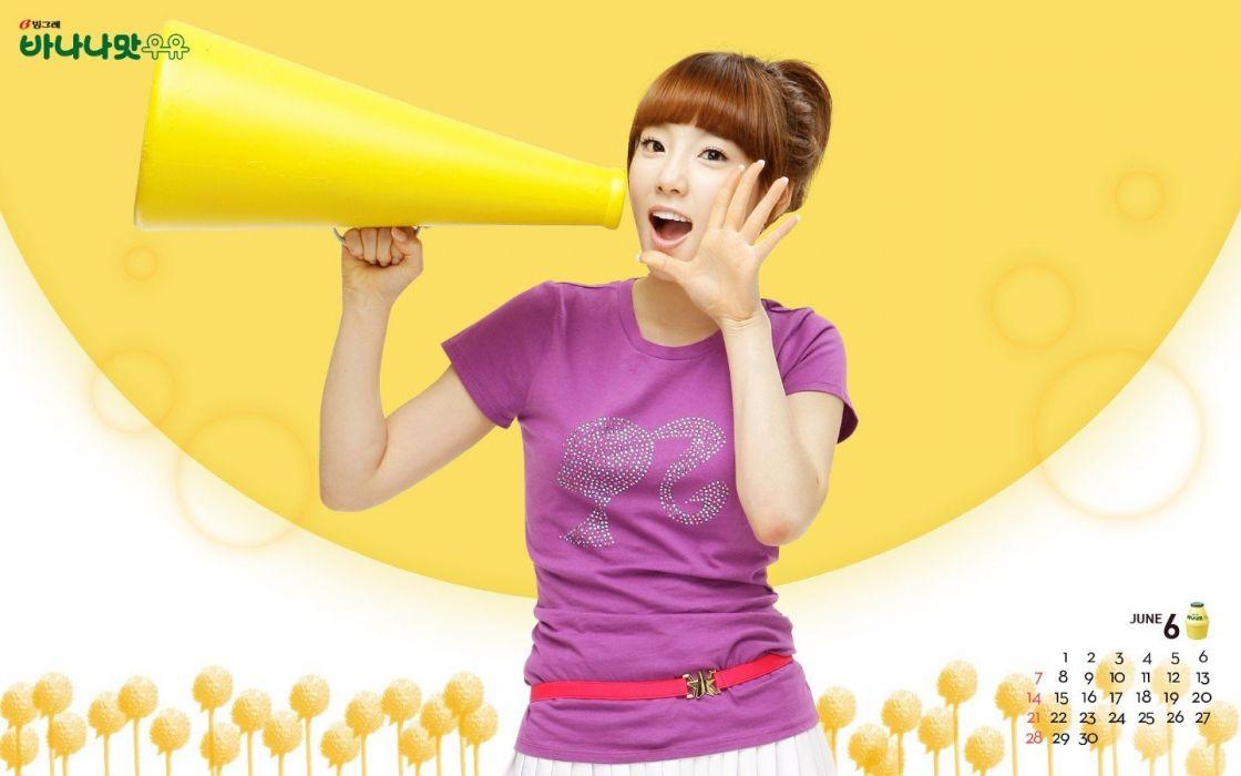 Girls Generation SNSD celebrity Kim Taeyeon K-Pop wallpaper