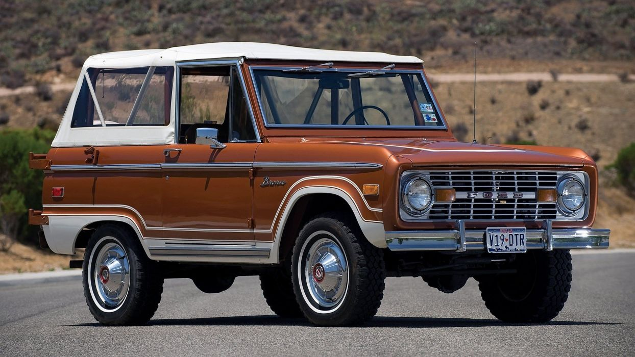 vintage cars Ford Bronco classic cars wallpaper