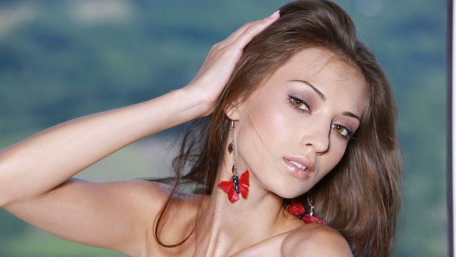 women models Anna Sbitnaya Ukrainian wallpaper