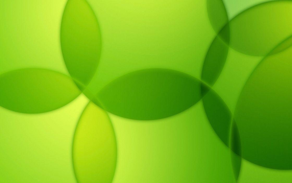 green abstract bubbles wallpaper