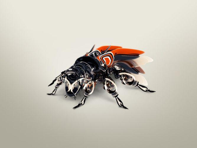 Bug artwork wallpaper