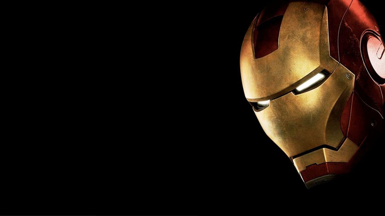 Iron Man movies comics armor Marvel Comics black background wallpaper
