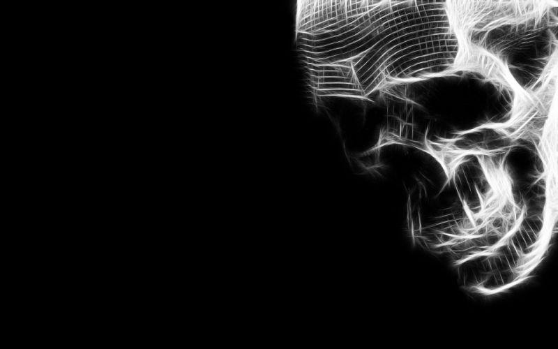 skulls Fractalius wallpaper