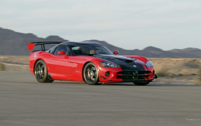cars Dodge Viper Dodge Viper SRT-10 ACR wallpaper