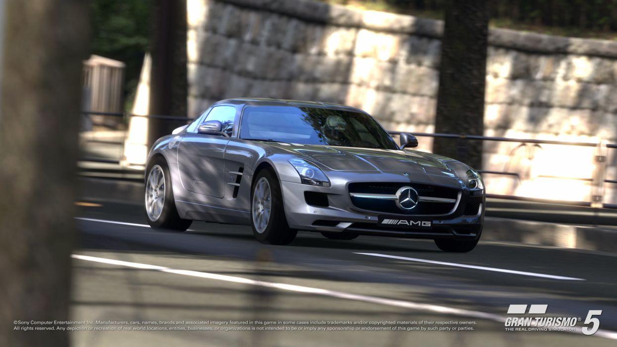 cars Gran Turismo Mercedes-Benz wallpaper