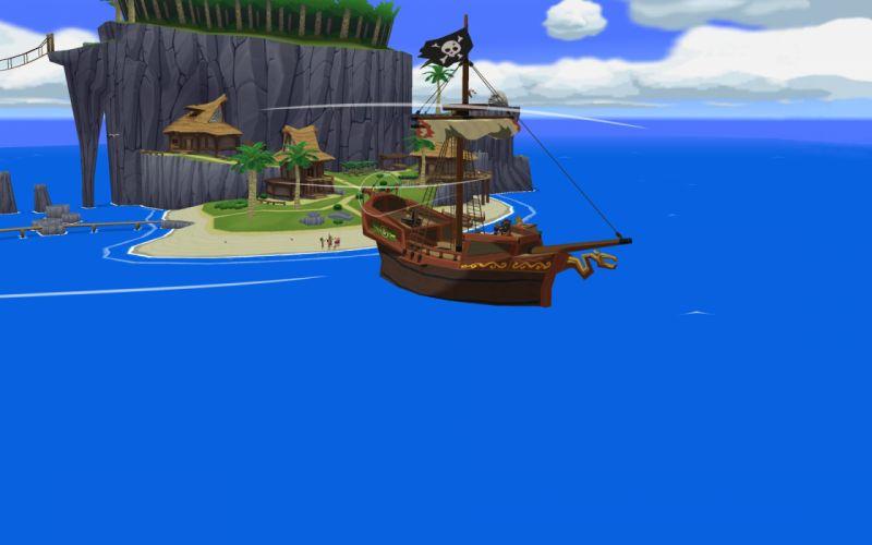 The Legend of Zelda The Wind Waker wallpaper