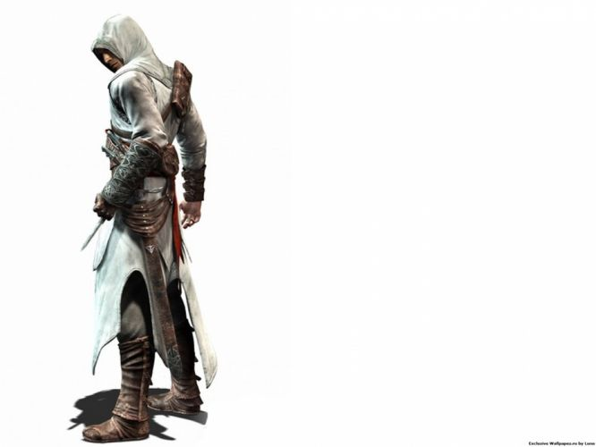 Assassins Creed simple background games white background wallpaper
