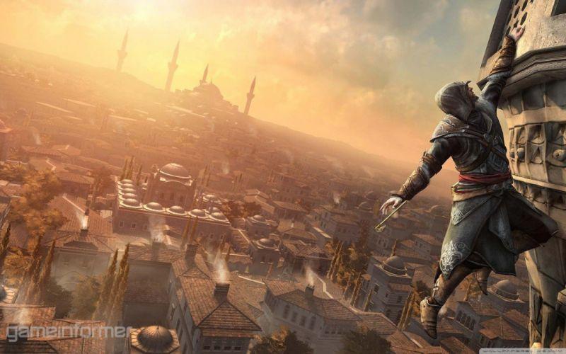 Assassins Creed Istanbul Assassins Creed Revelations Ezio Auditore da Firenze wallpaper