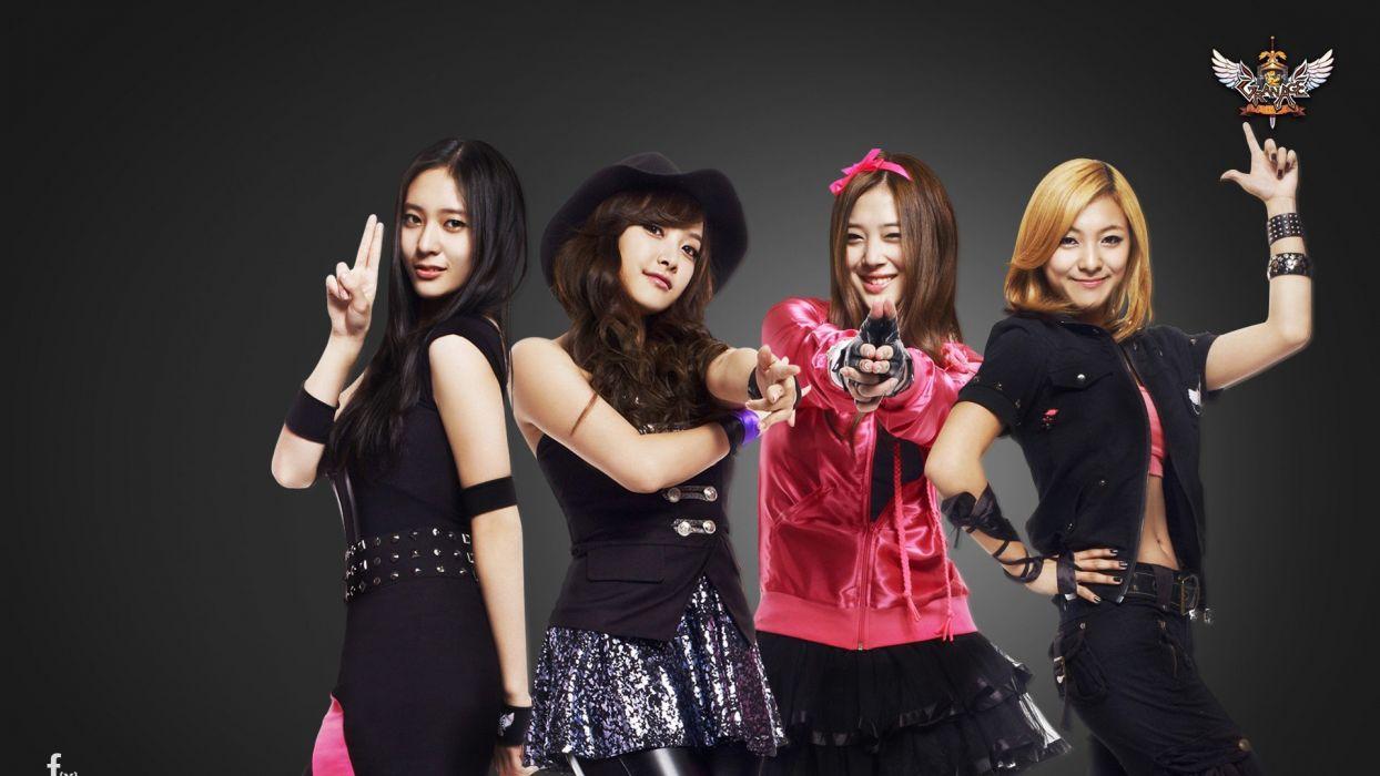 women music models celebrity Asians Korean Korea singers f(x) K-Pop band South Korea wallpaper