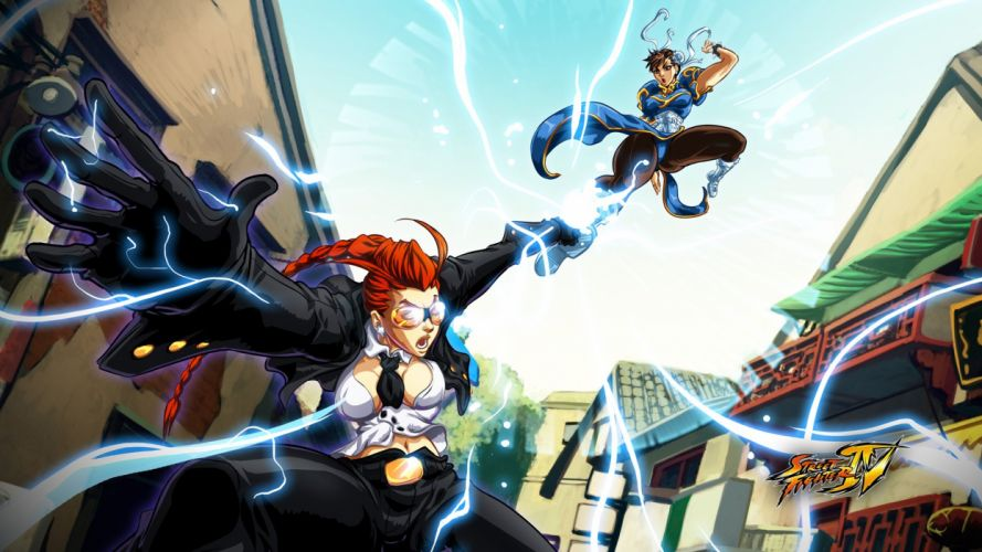 video games Street Fighter Chun-Li wallpaper