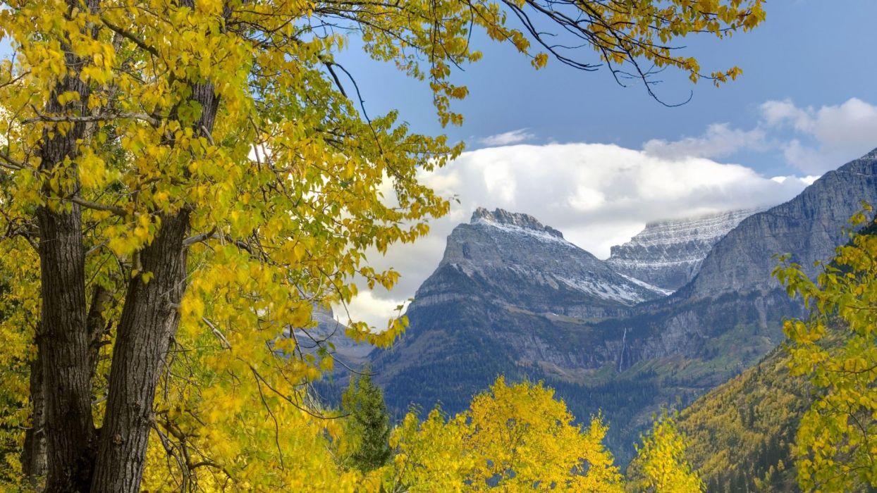 glacier National Park Mount wallpaper