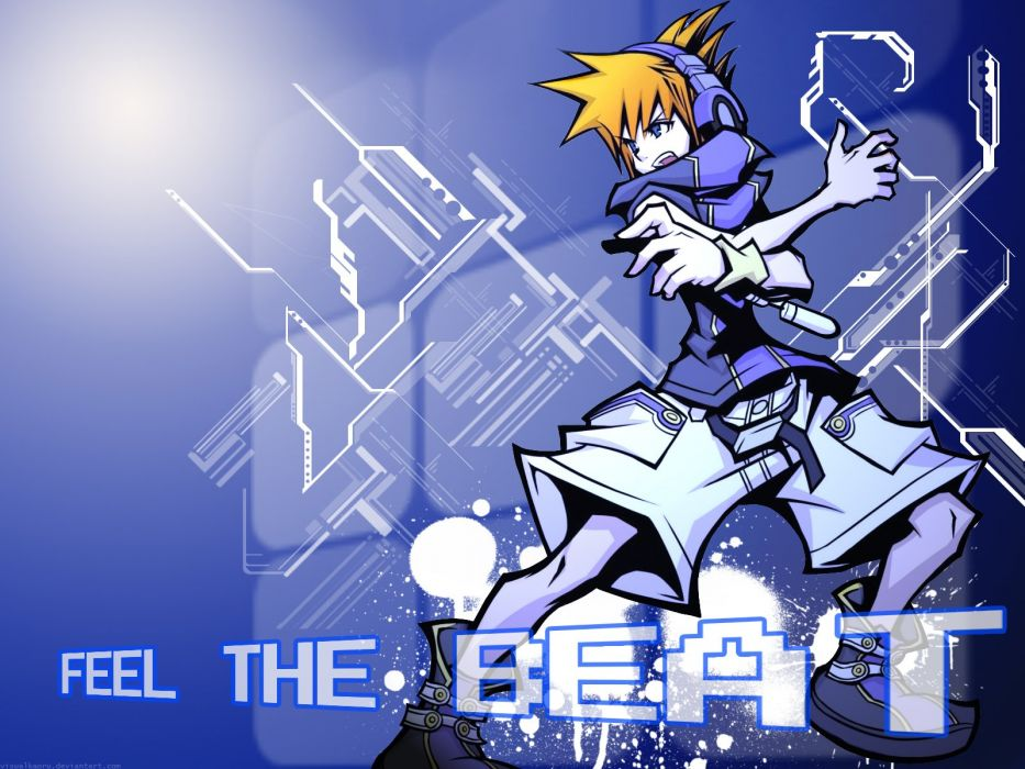 video games The World Ends With You wallpaper