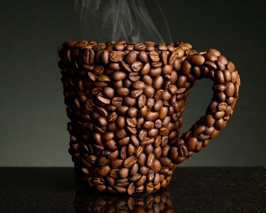 coffee cups coffee beans coffee cups wallpaper