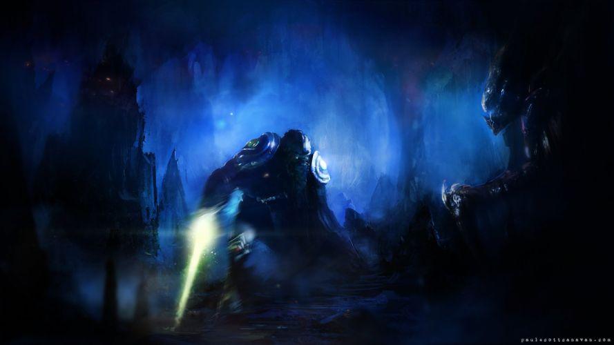Hydralisk Dark Templar StarCraft II wallpaper