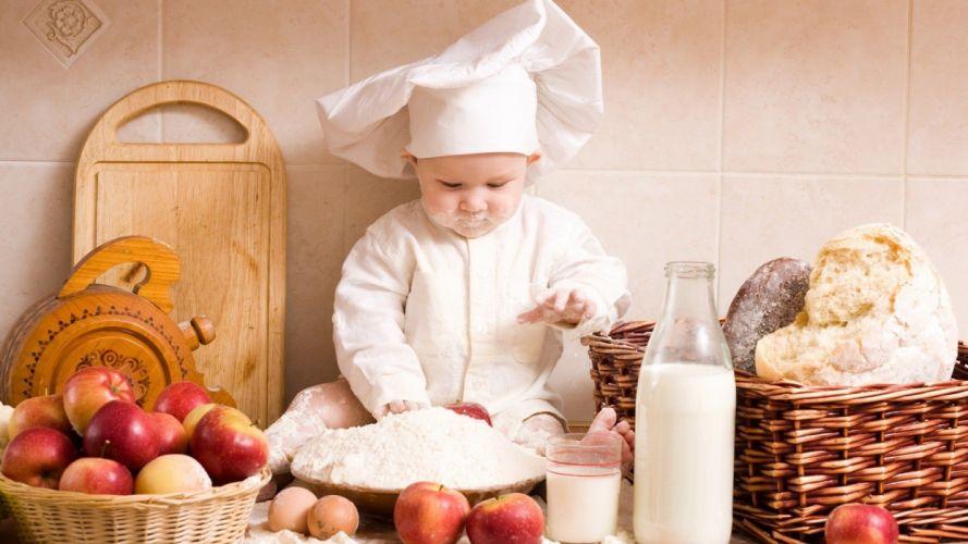 baby food kide wallpaper