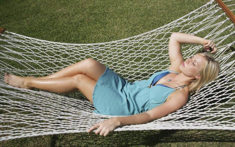 women grass Natasha Bedingfield hammock closed eyes wallpaper