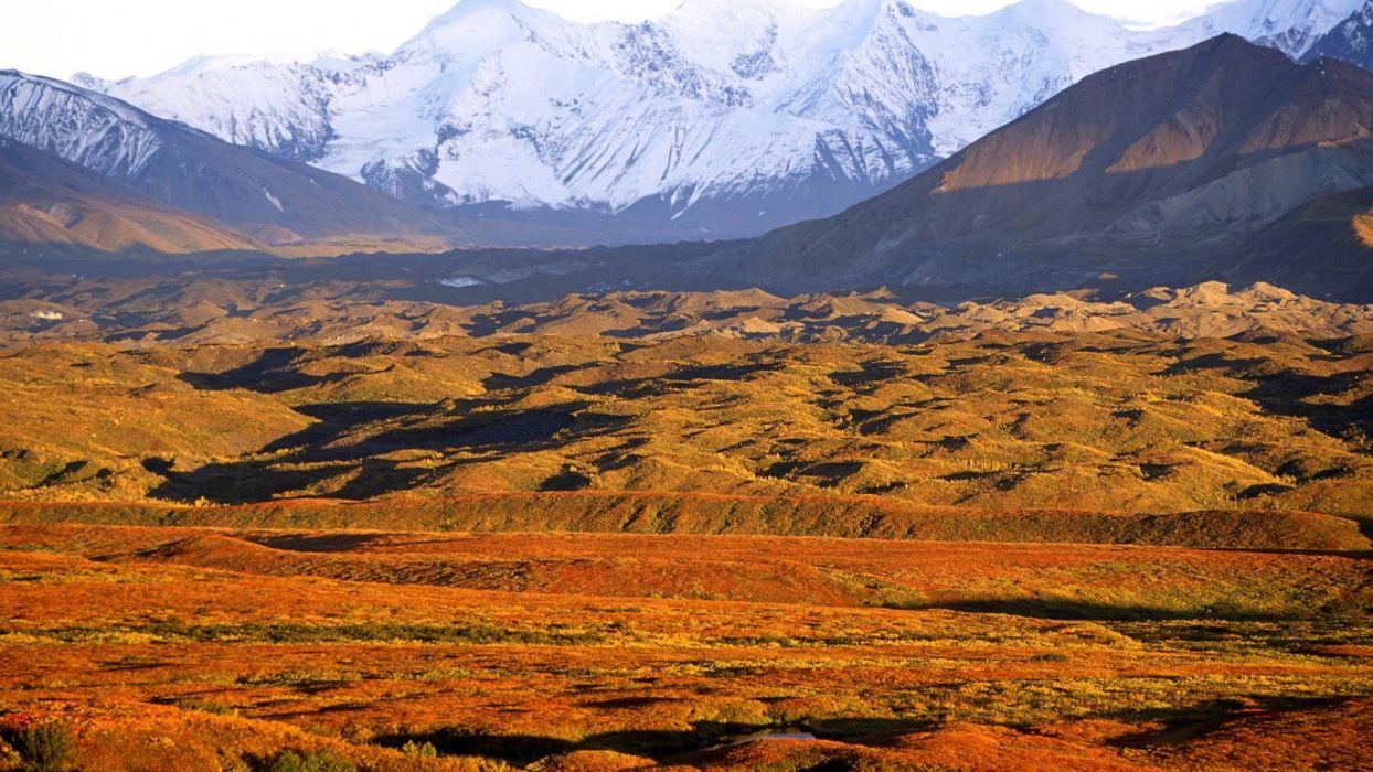 landscapes Alaska National Park wallpaper