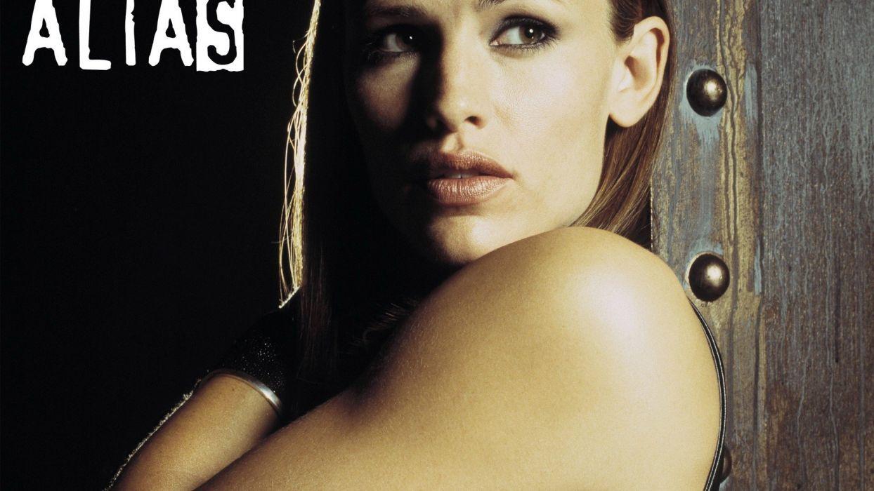women Jennifer Garner Alias wallpaper